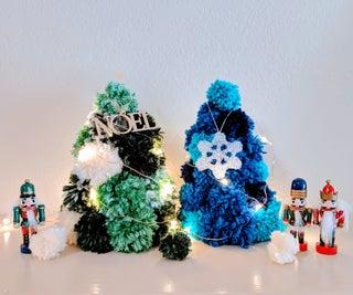 Pom Pom Christmas Trees
