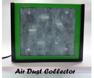 DIY Air Dust Collector for Desk