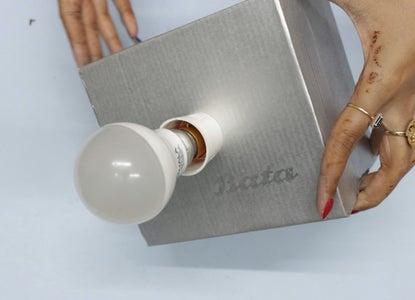 Install the LED Bulb