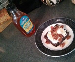 Healthy Flax & Egg Waffle Breakfast
