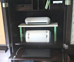 Repurposed Computer Desk