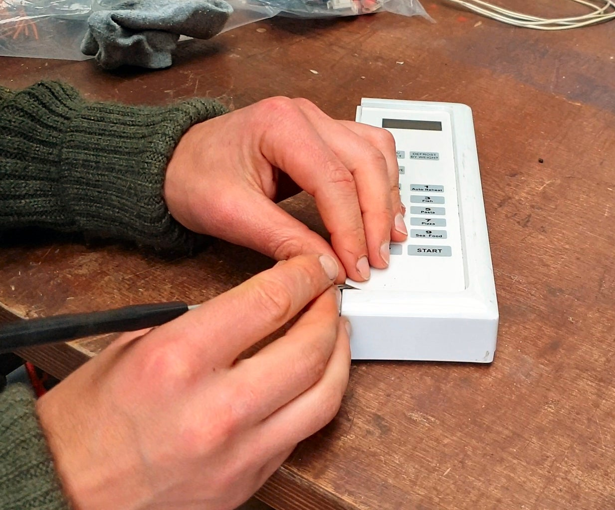 Adding a Microwave Timer #1 So Simple!