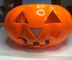 Motion Sensing Arduino Halloween Pumpkin