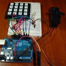 Access control with Arduino + Keypad 4x4 + Servo (UPDATE)