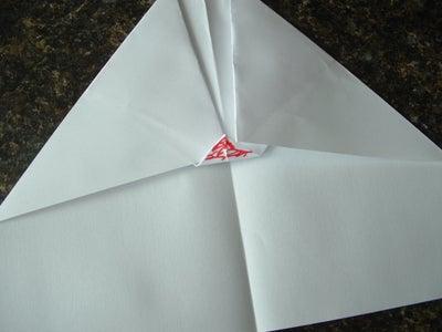 Fold the 1/2 Inch Upward