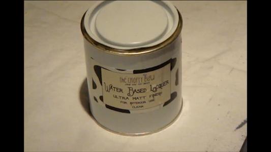 Lacquer, Milk Paint & Distressing