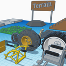 Sparklab- Create a Wheelchair for Difficult Terrain and Unexpected Environments.