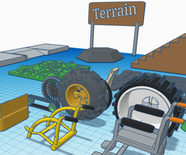 Sparklab-为困难地形和意外环境创建轮椅。