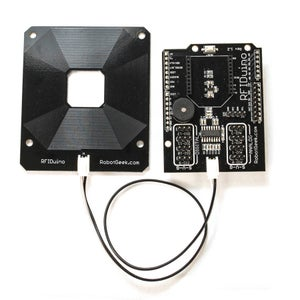 Install the RFIDuino Shield