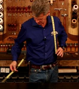 Measure for Guitar Strap Length