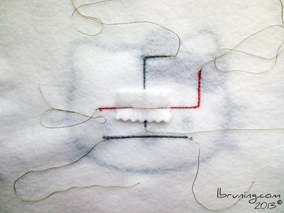 Sew the Electronic Traces