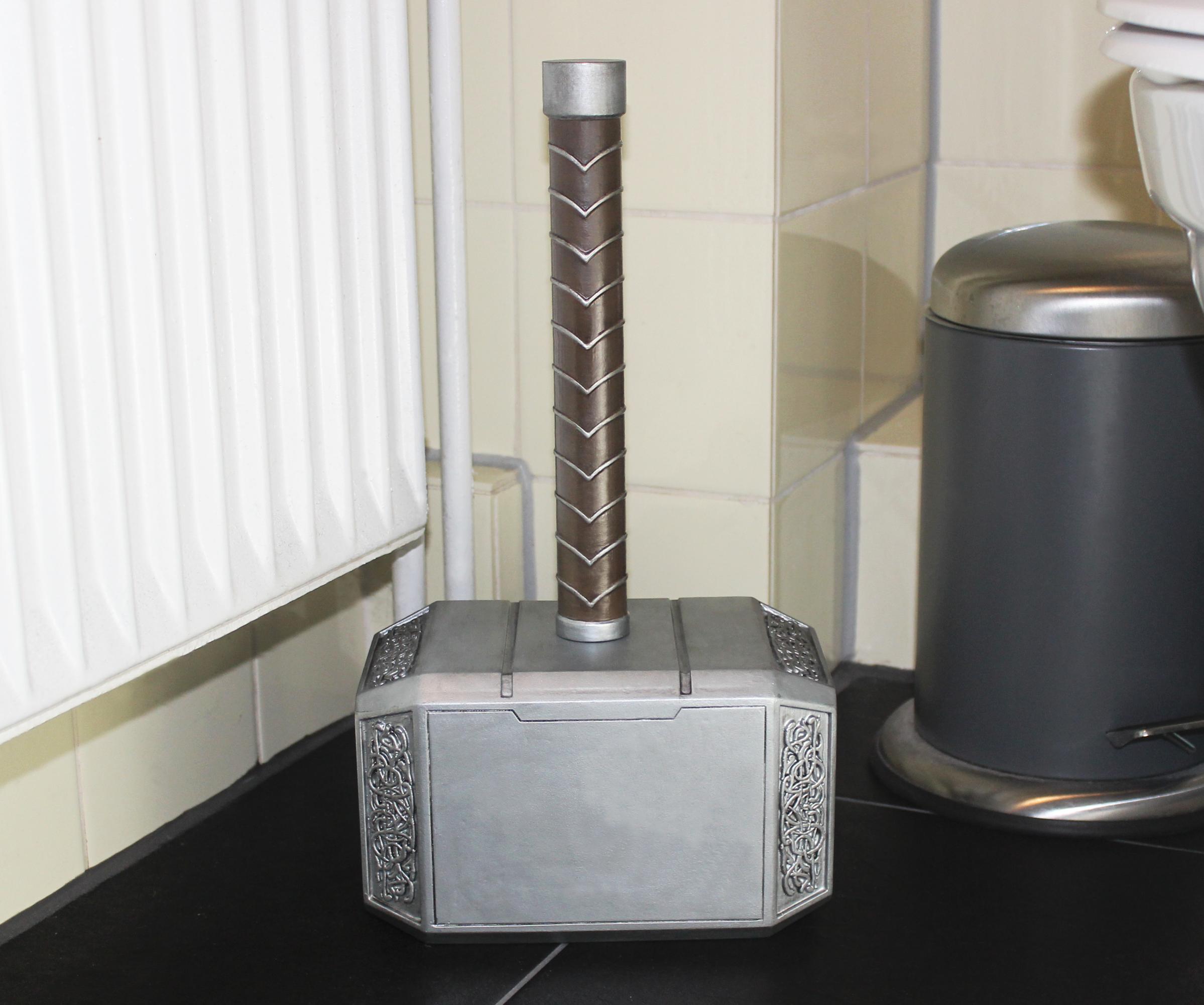 Thor's Hammer Toilet Brush