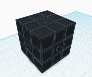 Tinkercad Rubiks Cube (moving Parts)