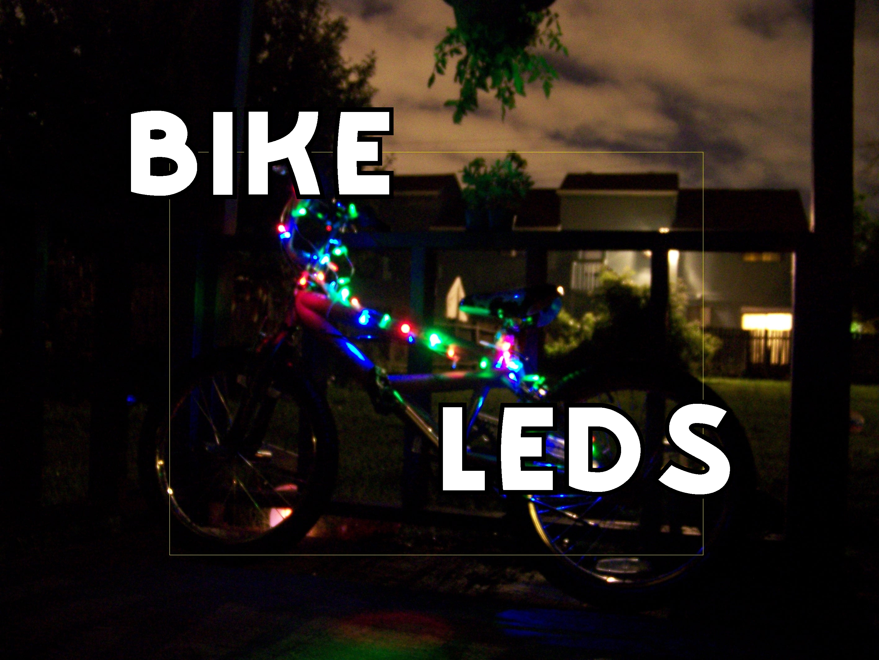 Make Your Bike Light Up for Style and Safety