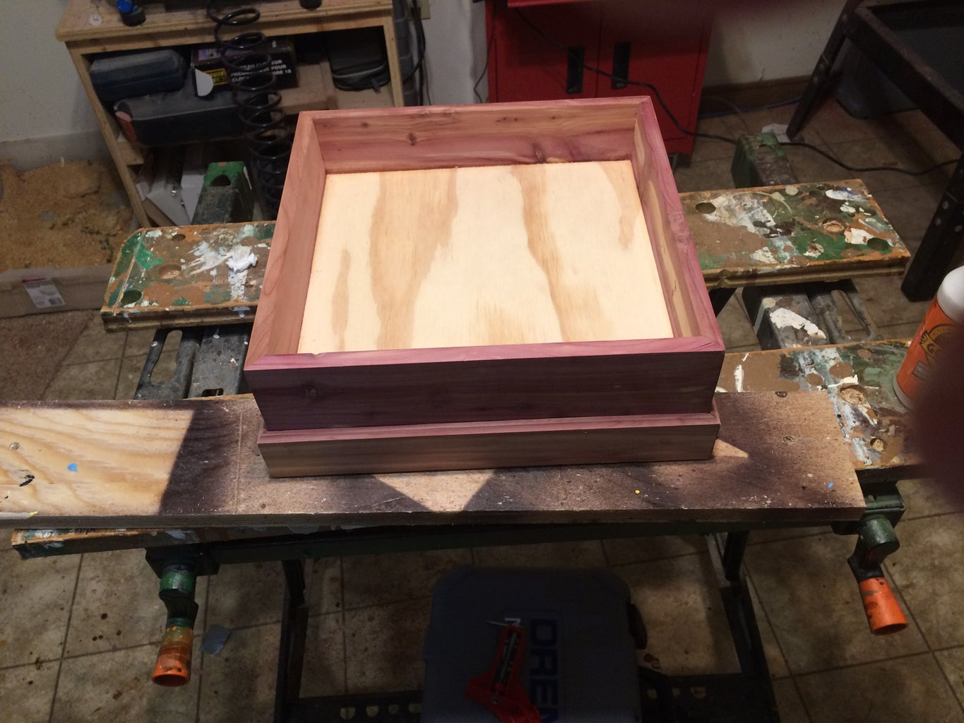 Attaching the Base to the Box