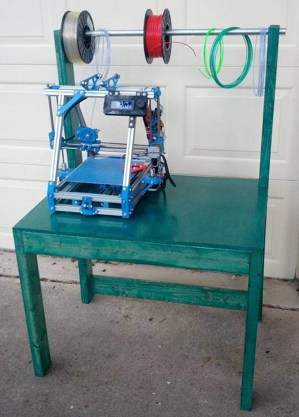 A Simple 3D Printer Table
