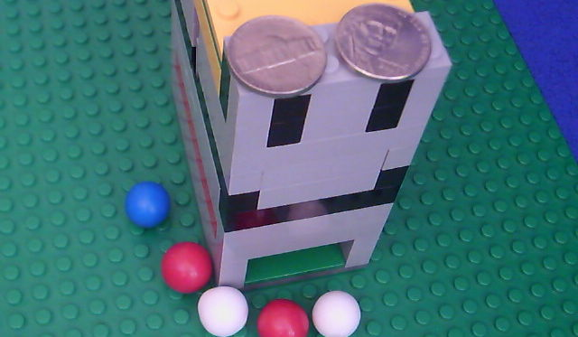 Epic Lego Gumball Machine how to build