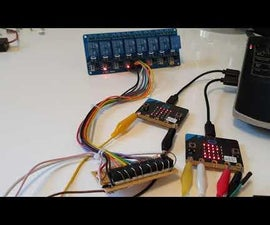 8 Relays With 1 PIO