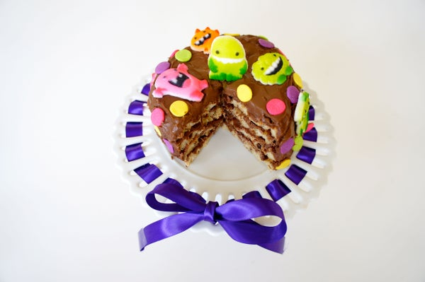 Monster Waffle Cake