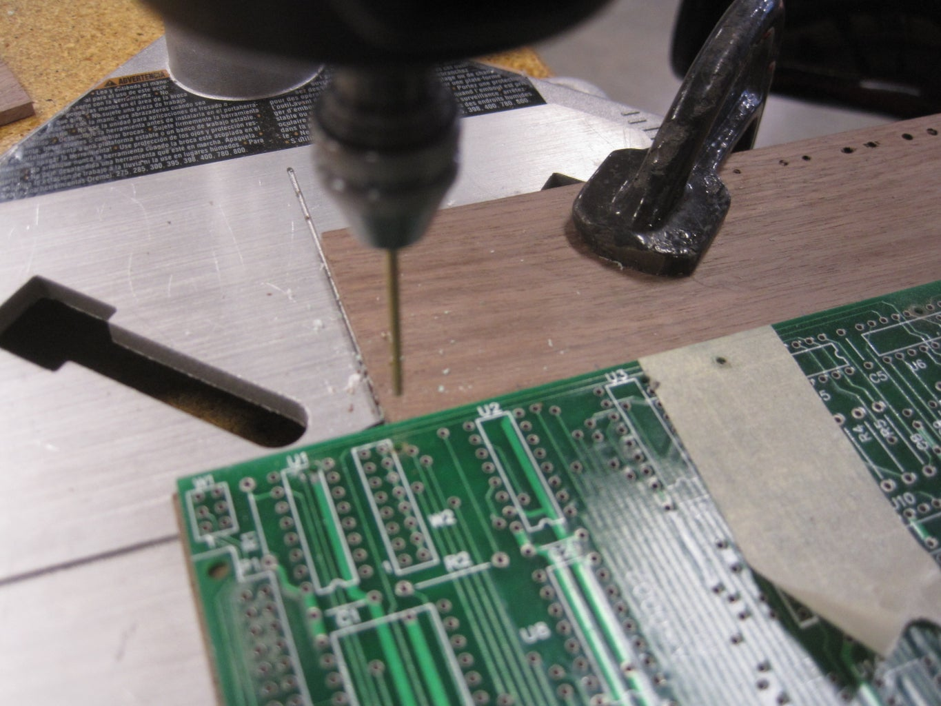 Holes for Stitching