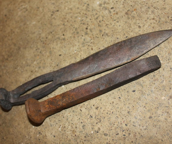 Blacksmithing and Casting in a Backyard Forge