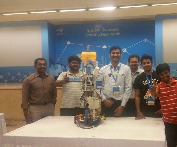 Humanoid Pet Robo (Intel IoT)