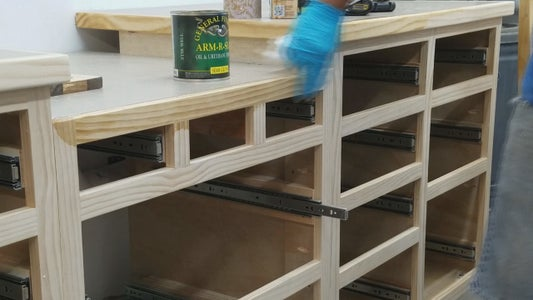 Adding a Counter Top Dust Collection Port