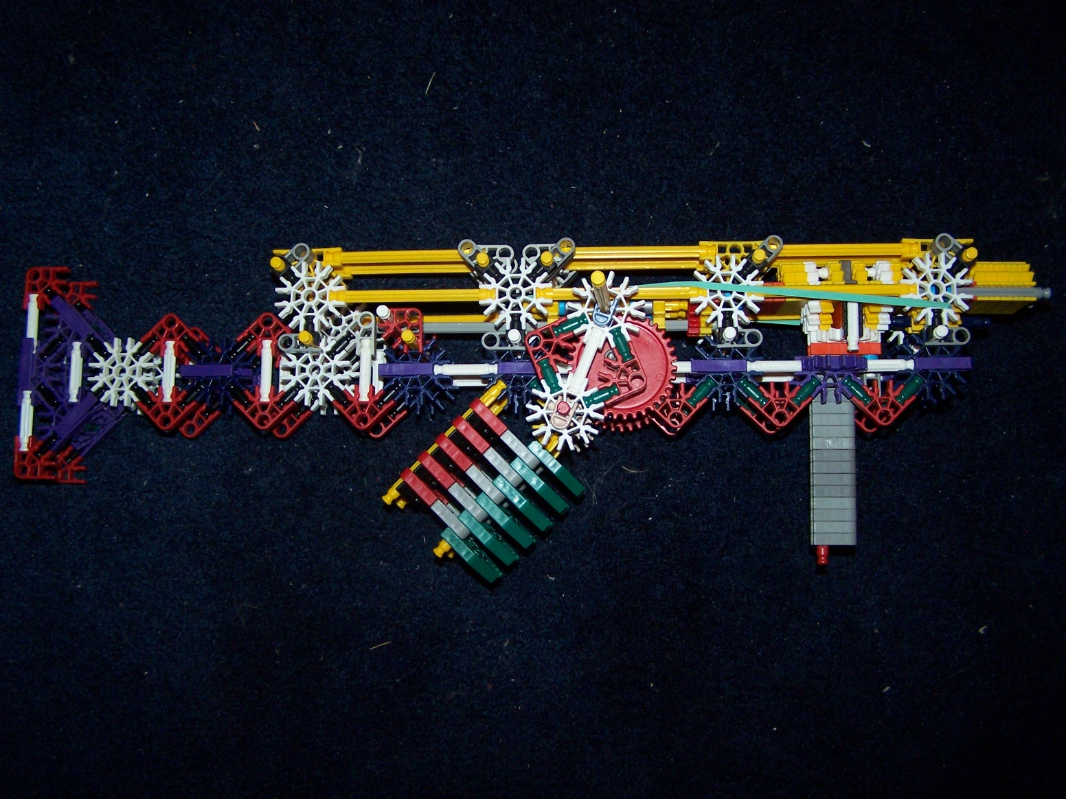 fully automatic knex gun (UPDATED)