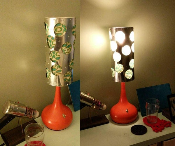 Funky Metal Lamp Shade