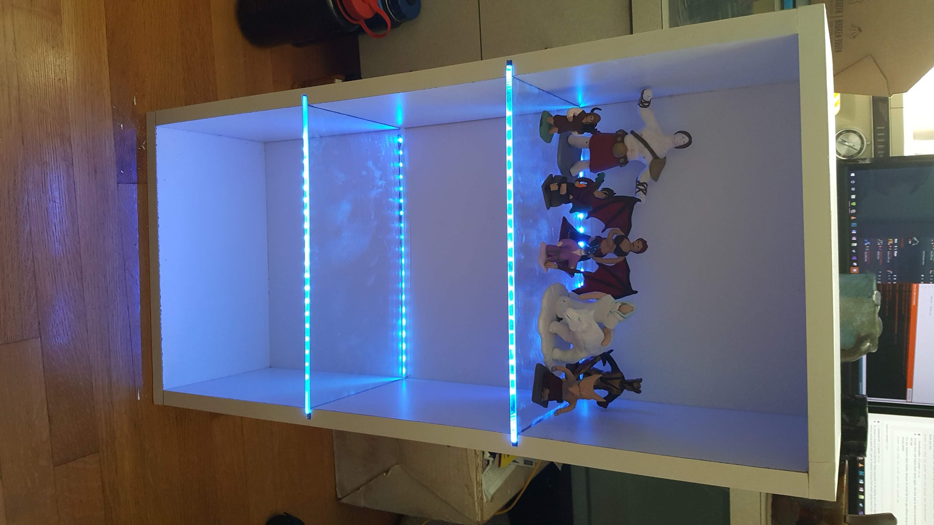 Bluetooth Back-lit Display Shelf