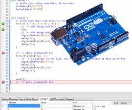 Debugging Arduino Code