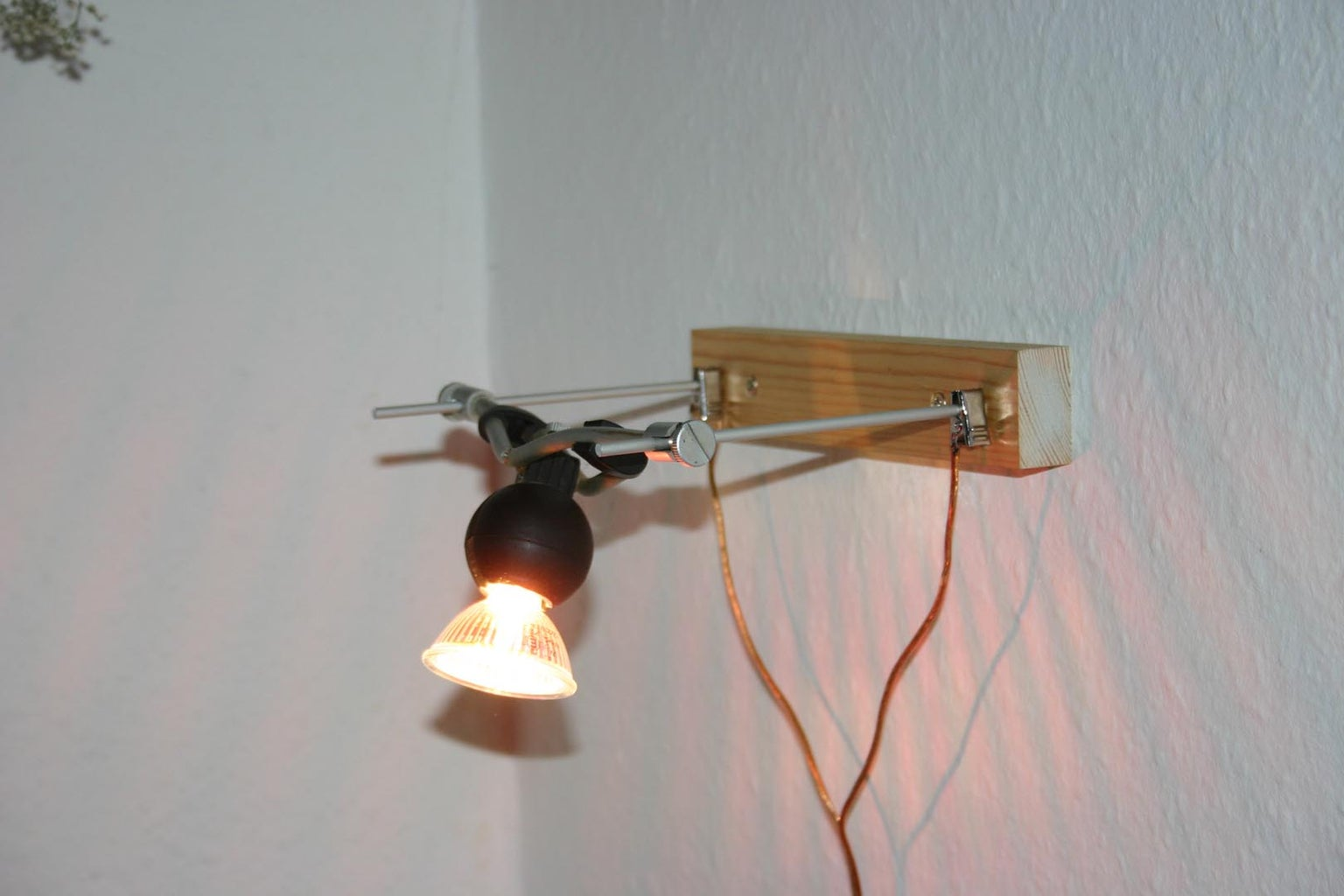 Convert Low Voltage Wire System Lights to Wall Mounted Lights
