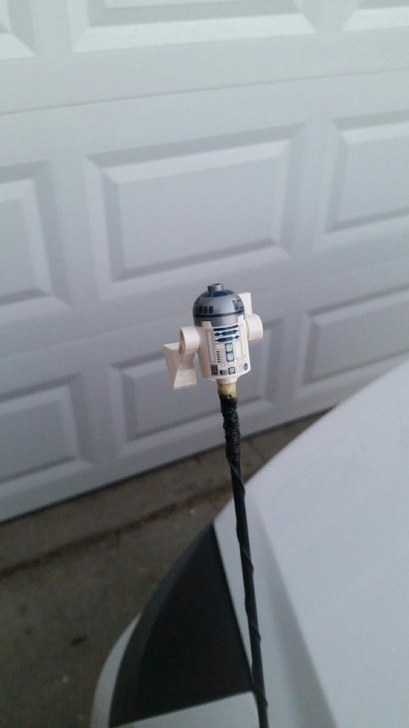 R2-D2 Car Antenna