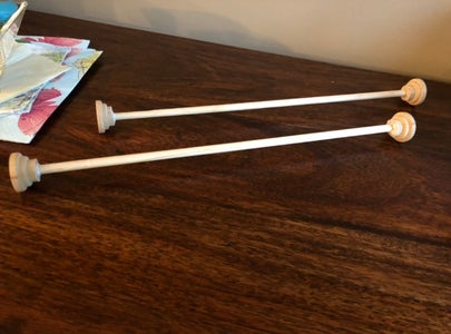 Make the Wooden Dowels for the Scroll