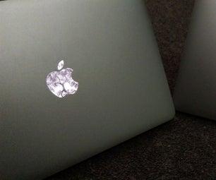 为Macbooks定制Apple徽标