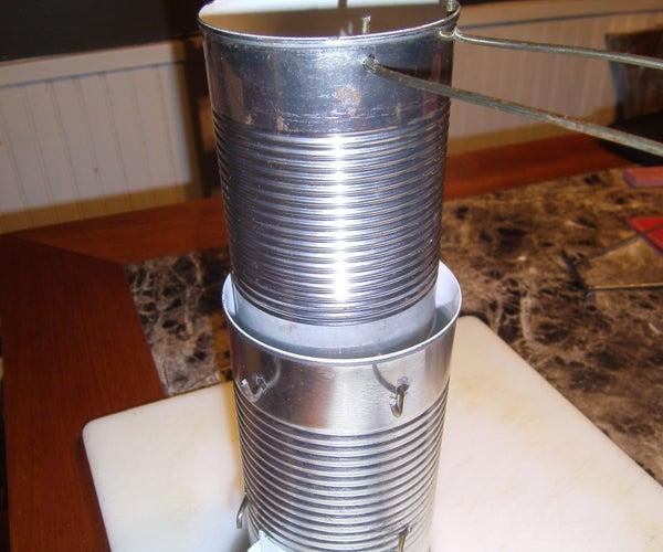 Tin Can Cook Stove