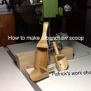 How To Make A  Bandsaw Scoop