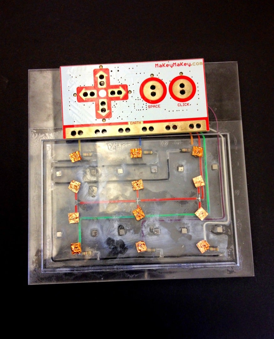 Build the Voltage Divider Circuit