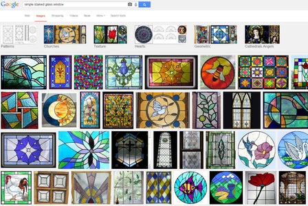 """Google Image Search """"Stained Glass Window"""""""