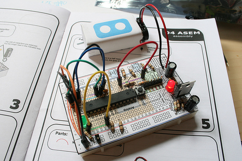 How to Breadboard Arduino Compatible.