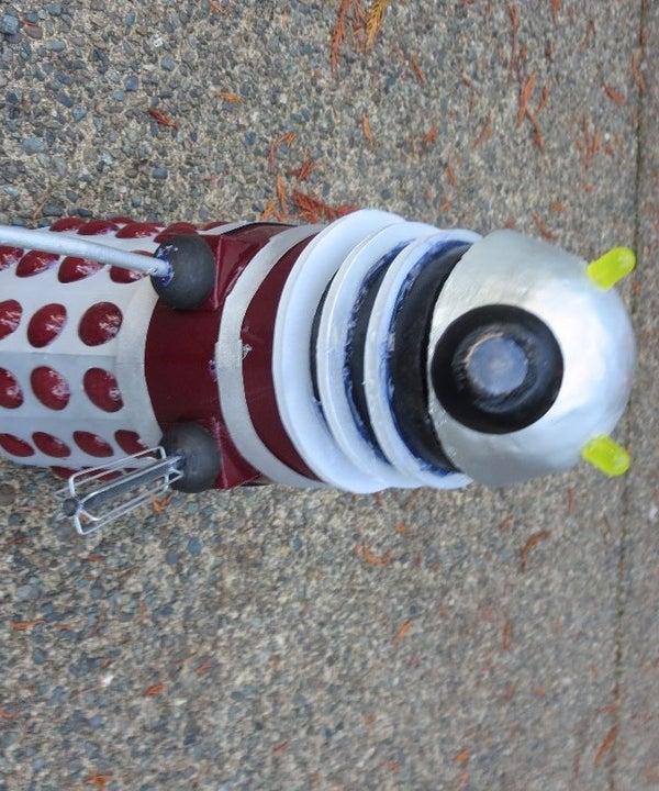 Twitter Controled Dalek