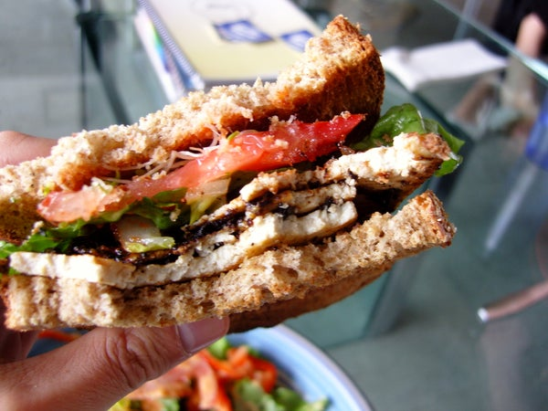 Miso Tofu Sandwiches