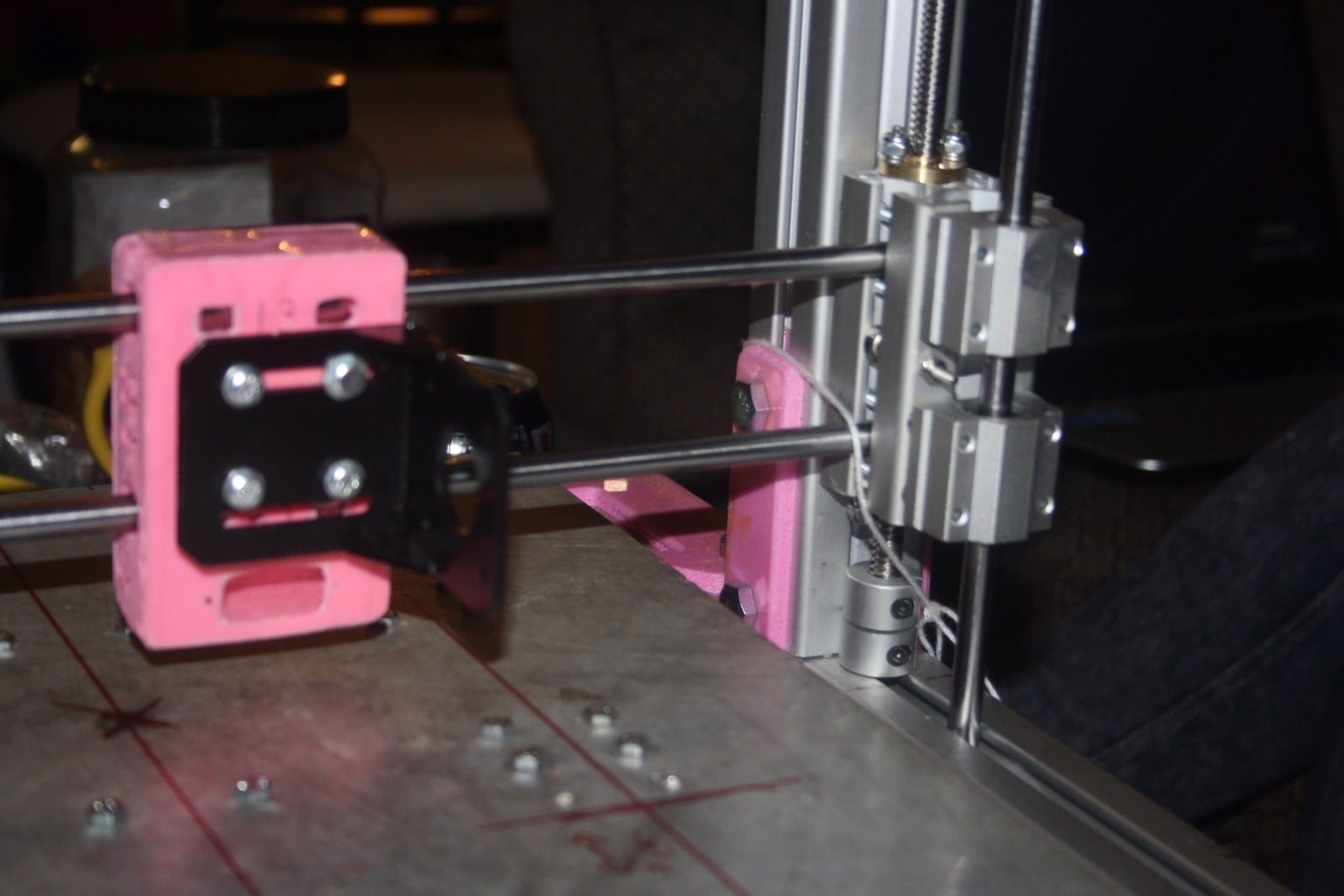Extrusion 3d Printer With 300mmx300mm Heat Bed With Pre-configured Marlin and Controlled Via Wifi