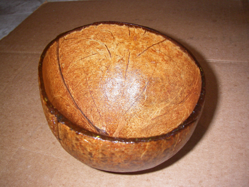 How to Recycle a Coconut Shell into a Bowl