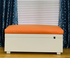 Make a Bench Cushion in Under an Hour!