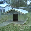 Very Sturdy Duplex Dog House for under $300.00