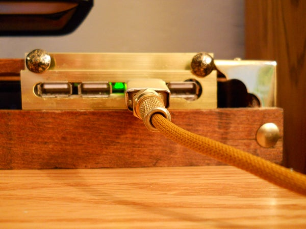 Steampunk USB Hub