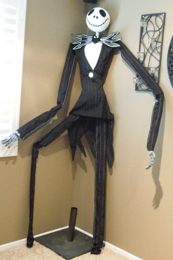 PVC Jack Skeleton Decoration