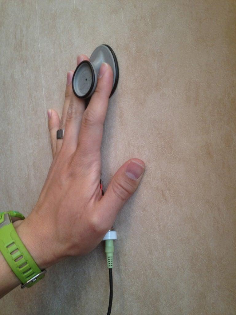 Make a Spy Stethoscope to Listen Through Walls