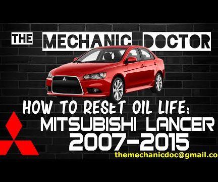 How to Reset Oil Life: Mitsubishi Lancer 2007-2015